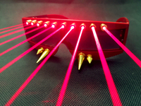 The Philippine performing laser glasses DJ glasses men and women dancing light lenses Laser show products