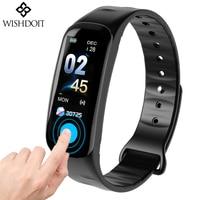 Men smart watches BANGWEI sport bracelet wristband bluetooth heart rate Sleep Monitor message reminder Call Vibration Reminder