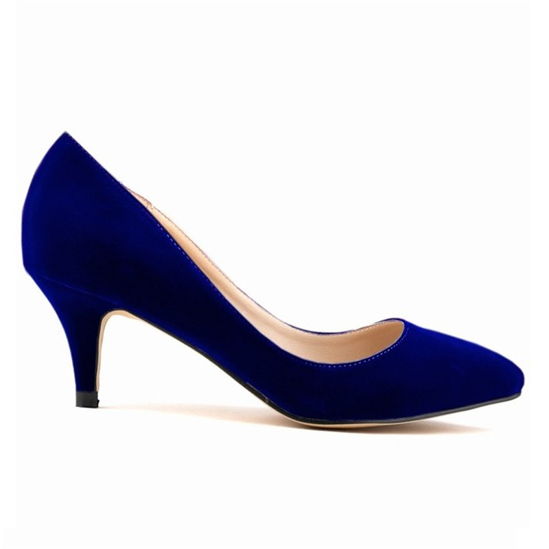 Plus size 2017 spring and summer new shoes pointed stiletto red princess OL wedding shoes Women sexy high-heeled shoes banquet new 2017 spring summer women shoes pointed toe high quality brand fashion womens flats ladies plus size 41 sweet flock t179
