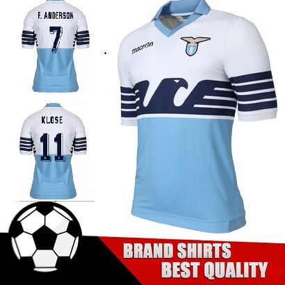 2016 new Lazio jersey 15 16 Lazio home football shirt Klose Candreva  Cavanda jersey Lazio soccer jerseys Eagle 115th Anniversary купить на  AliExpress d5dd87a87f72d