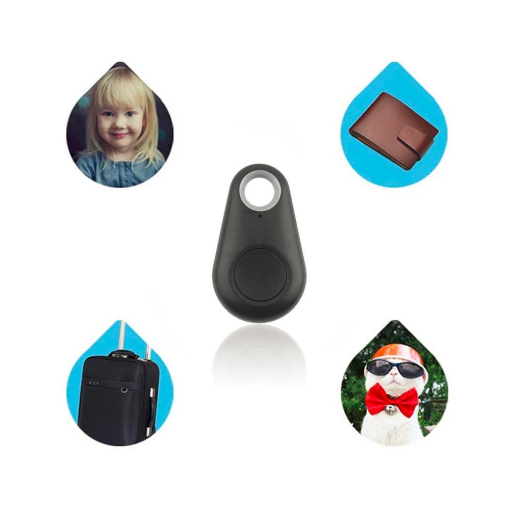 Micro Mini Smart Finder Smart Wireless Bluetooth 4.0 Tracer Locator Tracking Tag Alarm Wallet Key Pet Dog Tracker Black