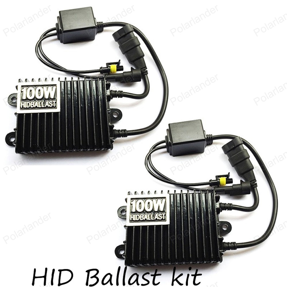 Ballast Digital 12V 100W For Hid-Kit Xenon H3 H4 9005/Hb4/9006/.. Slim