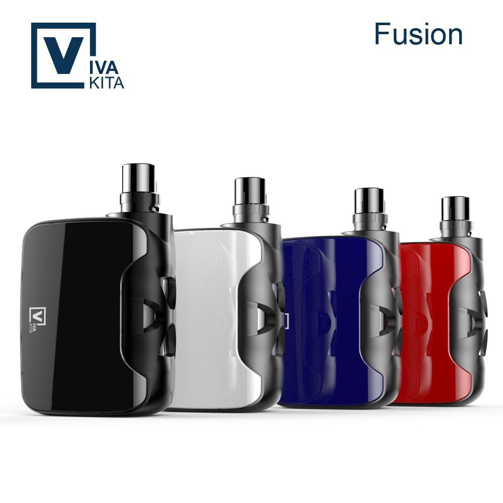Vivakita most popular vape mods child-lock design box vape kit FUSION 50w mod vw box mod vape