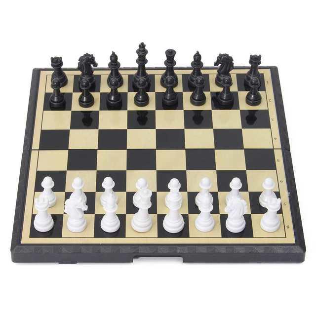 3 en 1 jeu d'échecs en plein air voyage échecs Backgammon pour développement intellectuel 2