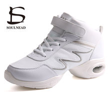 New Soft Dance Shoes For Women Outsole Breath Feature Dance Sneakers L