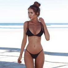 Women Swimwears Bandeau Bandage Bikini Set Push-Up Brazilian Swimwear Beachwear Swimsuit Magnificent Women's Swimsuits Biquini