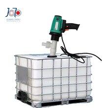 Pompe pour transfert dhuile électrique, 1,1 kw, résistante à la Corrosion, avec baril en plastique, pompe pour transfert dhuile électrique, hydrochlorhydrique/sulfurique