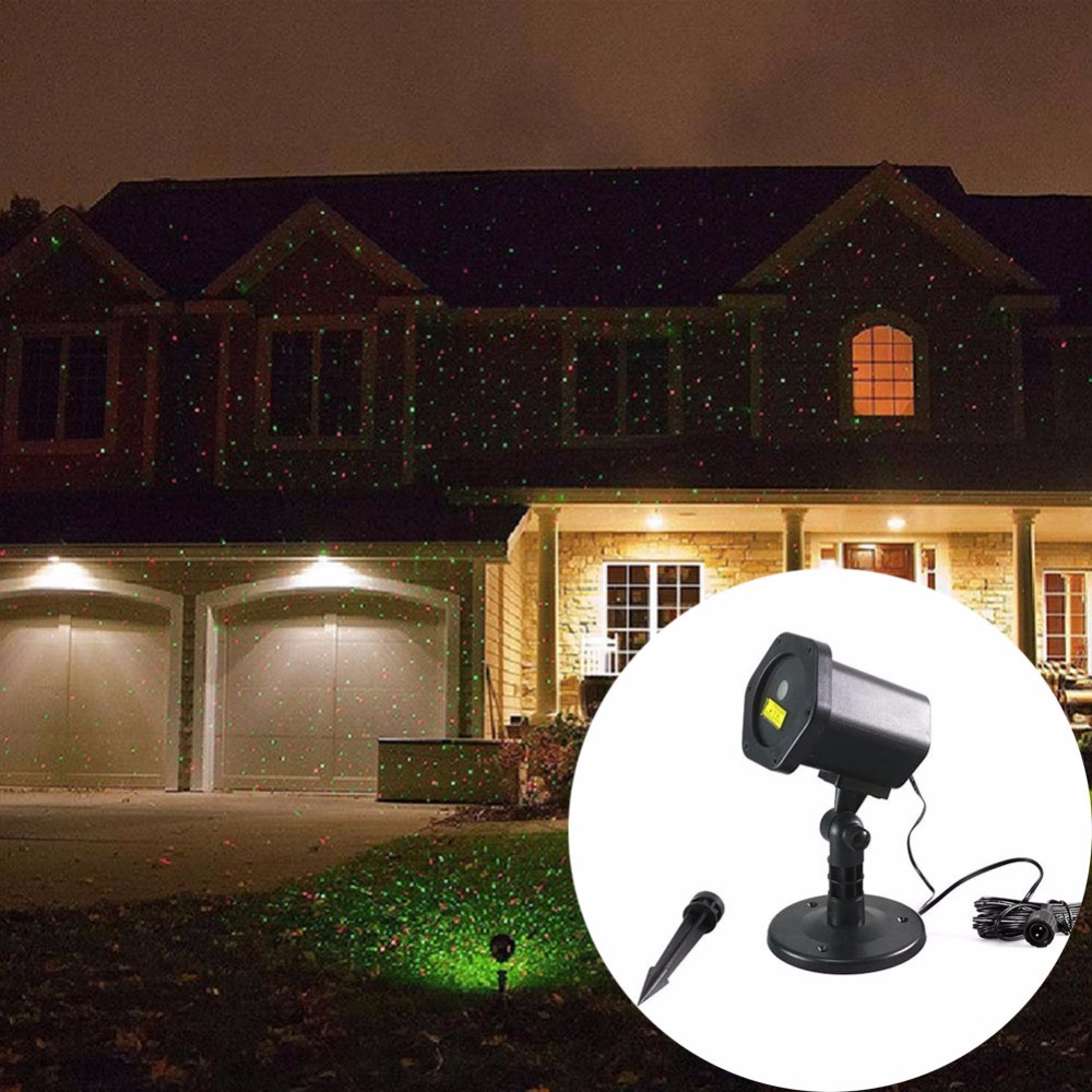 Garden Laser Lights Star Projector Christmas Decorations for Home Outdoor Waterproof IP65 Lawn Lamp Disco Lights Red GreenGarden Laser Lights Star Projector Christmas Decorations for Home Outdoor Waterproof IP65 Lawn Lamp Disco Lights Red Green