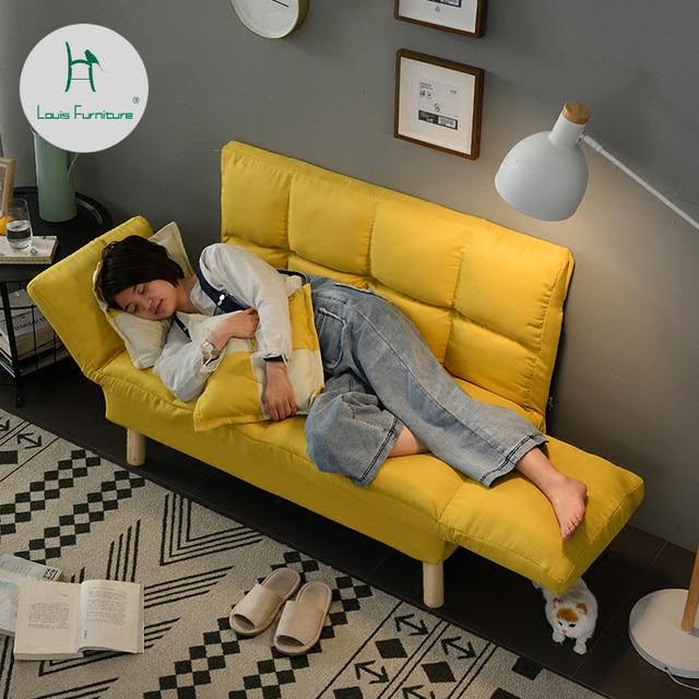 Louis Mode Wohnzimmer Sofas Faul Boden Balkon Kleine Wohnung Schlafzimmer  Doppel Tuch Faltbare Einfache Moderne Minimalistischen