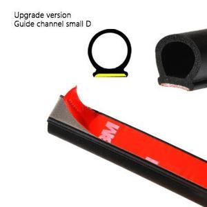 Image 2 - Dragonpad 5M D Forma di Auto Per Porte E Finestre Trim Bordo Hollow Striscia di Tenuta Guarnizione In Gomma Accessori Per Auto