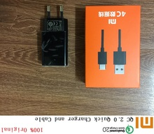 Original XIAOMI Fast Charger For Mi 4C 4S NOTE4 X Redmi 3S 3X 4 4A 4X MAX ,12V 1A QC 2.0 Quick Charge Adapter Micro Type-C Cable