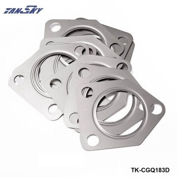10Pcs/lot 304 SS Turbo Compressor Outlet Gasket For BMW E36, E46, E39 530d M57 TK-CGQ183D image