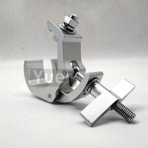 Image 5 - 30pcs/lot Professional Clamp Hook For Stage Light Aluminium Disco DJ Lingt Hook Quick Coupler Truss Clamp Aluminum Allay Clamp
