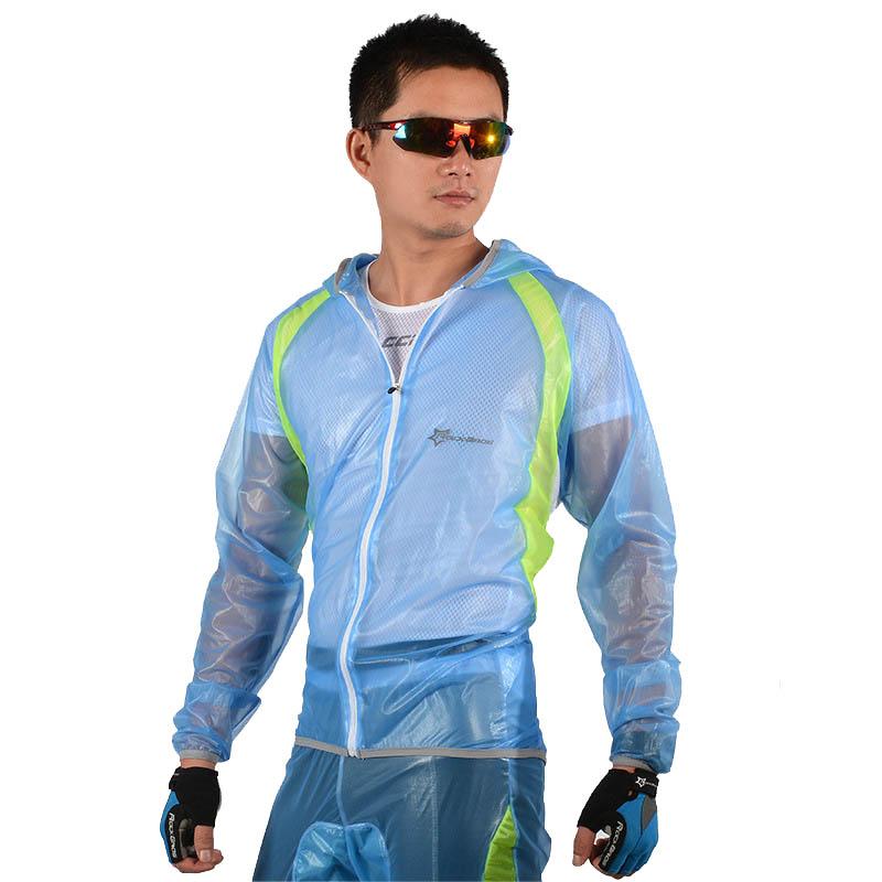 ROCKBROS Waterproof Cycling Jersey breathable Jacket Jersey Windproof Coat Clothing MTB Reflective Bike Road Raincoat RK0019 (9)