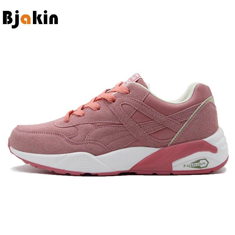 Bjakin Для женщин Спортивная обувь Кроссовки порами спортивные Обувь дышащая женская атлетика женский бег Обувь для прогулок