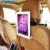Banco de trás do carro universal 9 10 11 polegada tablet pc suporte flexível suporte para tablet encosto de cabeça do carro adequado para ipad