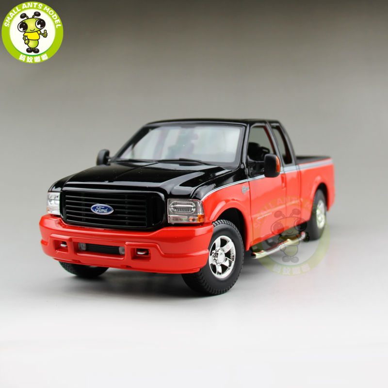 1/18 FORD F 350 Super Duty Diecast Car Model 36690 Orange Color
