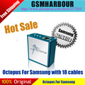 Caixa de polvo para samsung edition com 19 cabos polvo para o reparo do telefone móvel & ferramenta de desbloqueio de sam