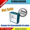 Pulpo octopus box para samsung edition con 19 cables para sam teléfono móvil de reparación y desbloqueo de herramientas
