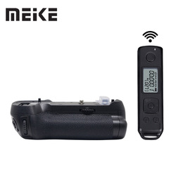 Meike MK-D850 Pro Vertical Shooting Power Pack Battery Grip with 2.4G Hz Wireless Remote Control for Nikon D850 Camera