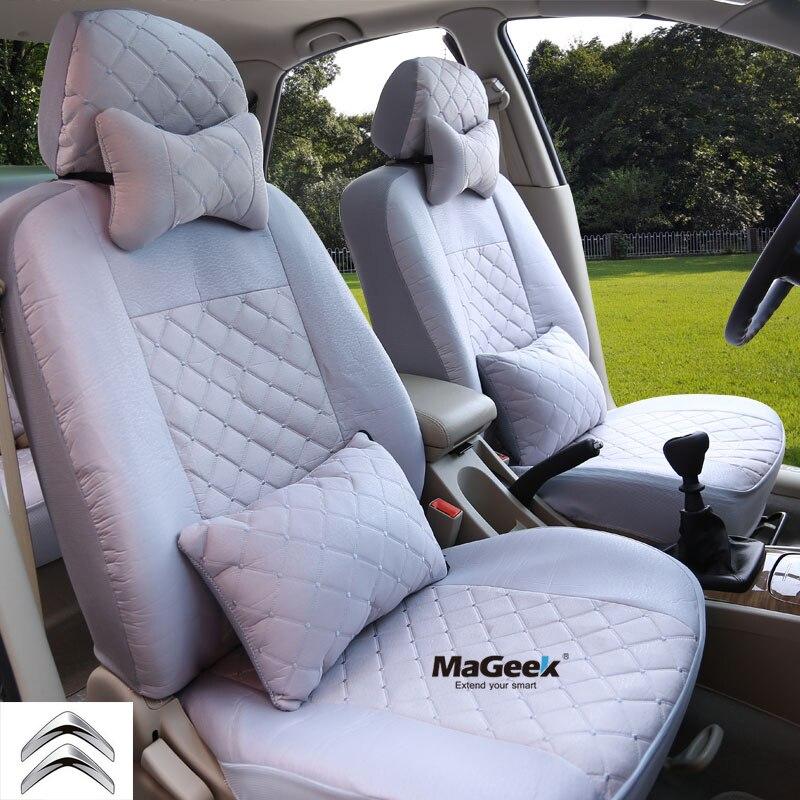 ФОТО Universal car seat covers for Citroen c4 c5 c2 c3 drain car accessories car sticker