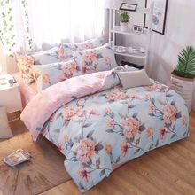 Klonca luxury bedding set cotton sheet winter bedding set  nordic fashionable bed set