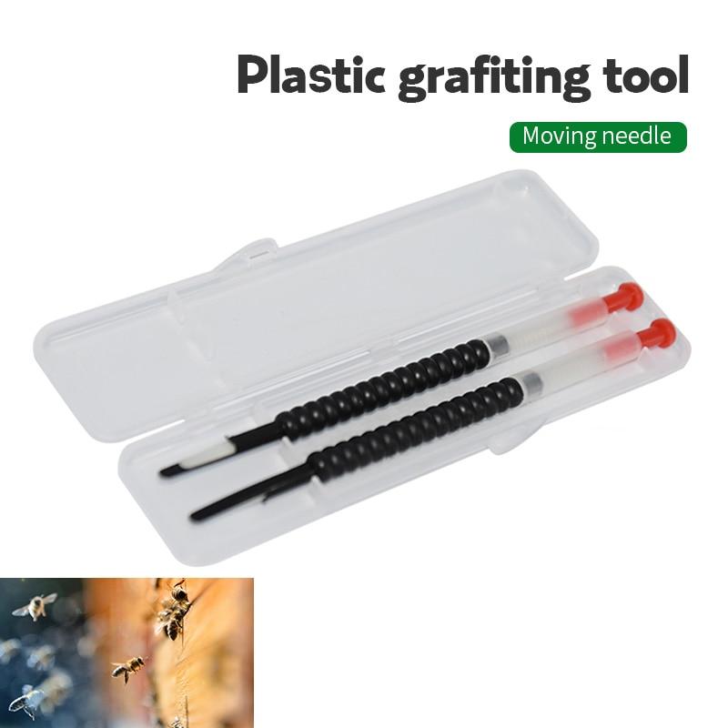 5Pcs Moving Grafting Shift Needle Bee Clips Beekeeping Tools Bamboo Material
