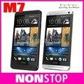 Оригинальный Телефон HTC ONE M7 Разблокирована 3 Г 4 Г Wi-Fi GPS 4.7 ''Сенсорный Мобильный Телефон 2 ГБ RAM 32 ГБ Хранения Android Смартфон