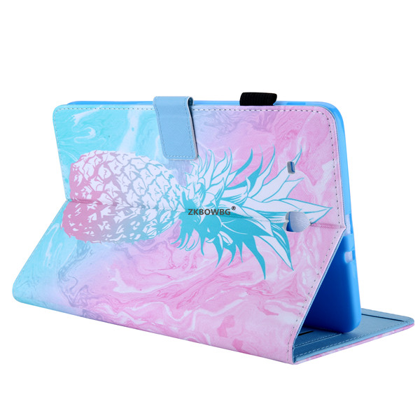 Cartoon Butterfly Stand Flip PU Leather Fundas Case For Samsung Galaxy Tab E 9.6 T560 T561 9.6'' Tablet Cover Sleeve Pouch Bags
