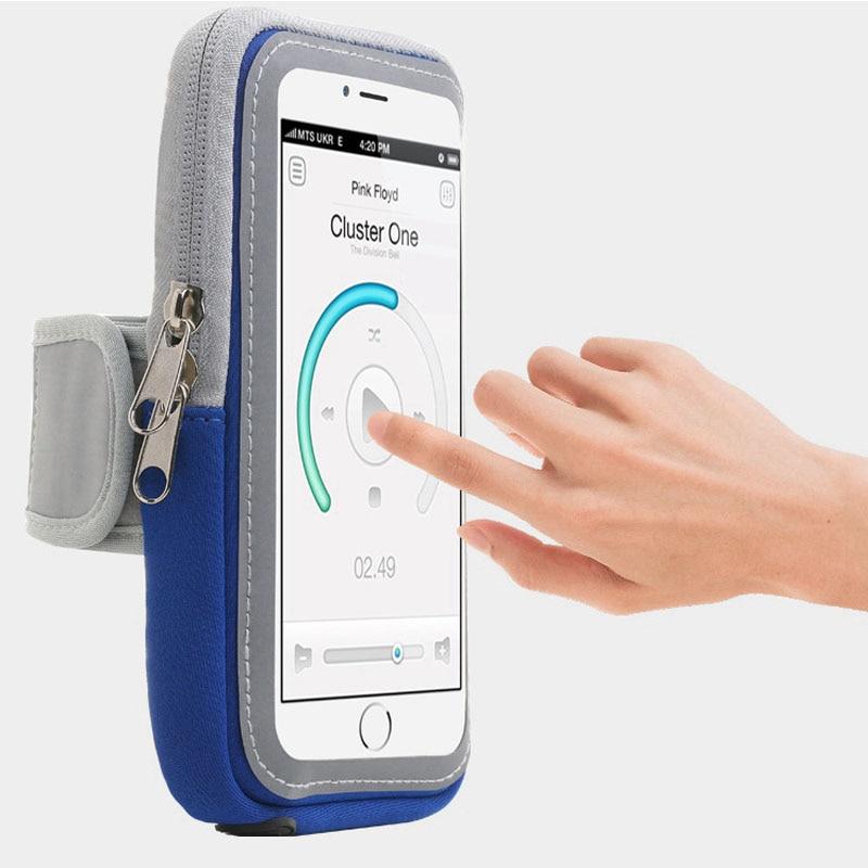 Водонепроницаемая универсальная нарукавная повязка на руку для бега, спортзала, держатель для смартфона iPhone