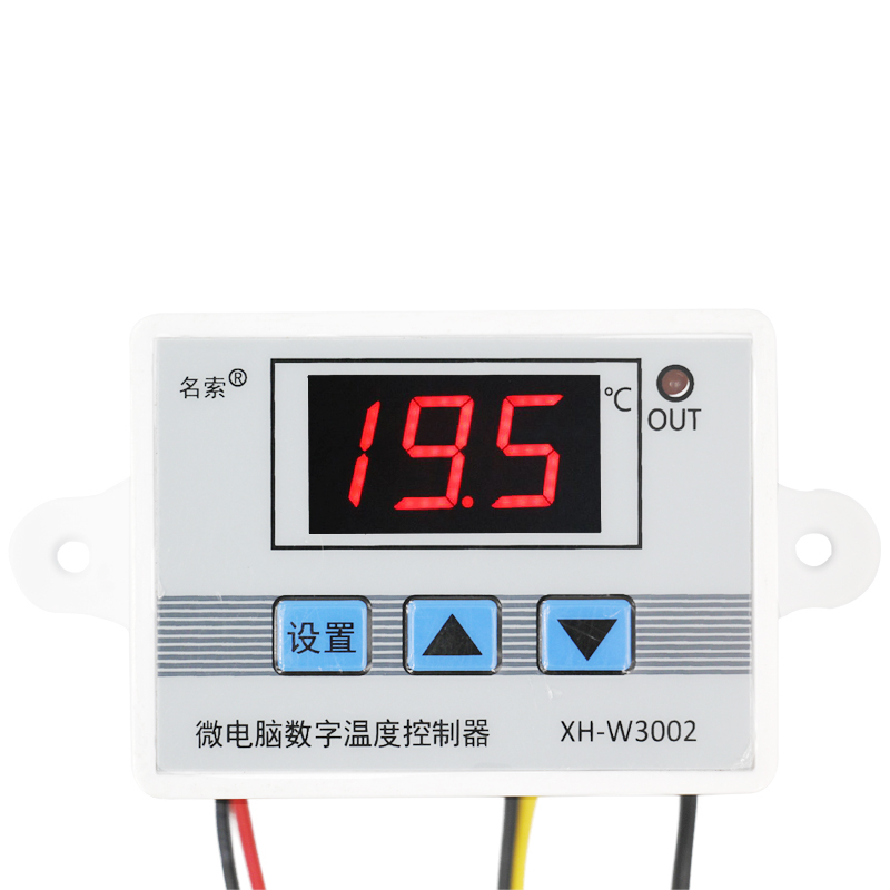 10pcs Thermometer Control <font><b>W3002</b></font> Digital Temperature Controller 10A Thermostat Switch with Probe sensor 40% off image