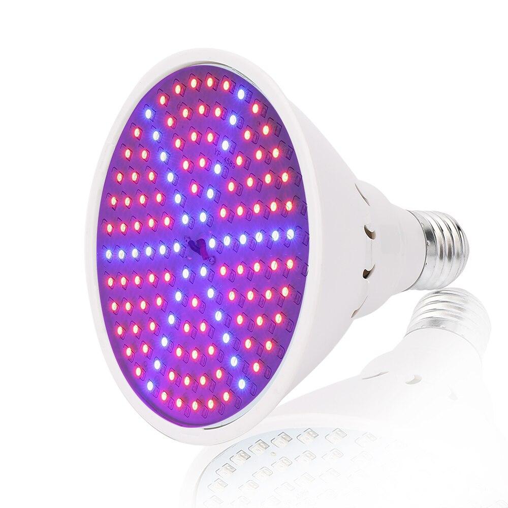 E27 LED Grow Light 10W 86Red: 20Bleue 15W 90Red: 36Blue Phytolamp for - Մասնագիտական լուսավորություն - Լուսանկար 2