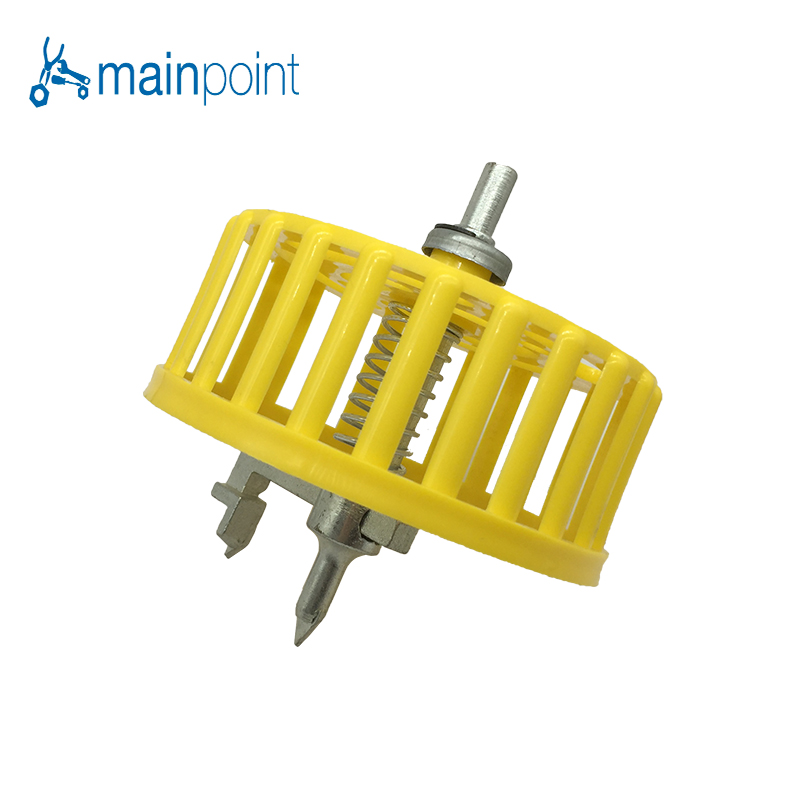 Mainpoint 20-100mm Adjustable Circle Tile Cutter Protective Cover Hole Cutter For Ceramic Tile Tungsten Carbide Drill Bit Tools jelbo cone step drill hole tools countersink 3pc drill bit set power tools step drill bit for metal power tools set hole cutter
