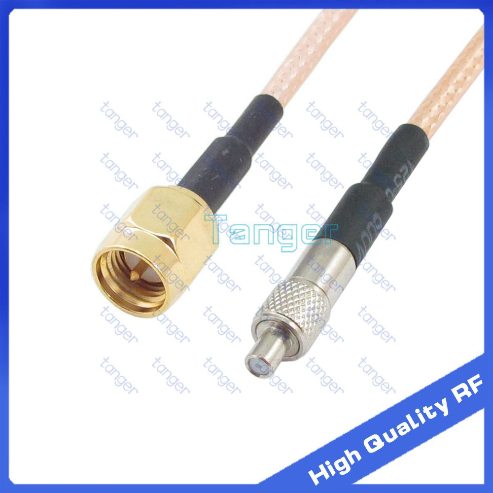 TS9 female jack to SMA male plug straight connector with 20cm 8 RF RG316 RG-316 RF Coaxial Pigtail High Quality Low Loss cable 5 x rf antenna fm tv coaxial cable tv pal female to female adapter connector