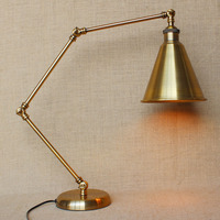 Настольная лампа LED ретро стол Новый американский Стиль Nordic современные исследования украшения настольная лампа