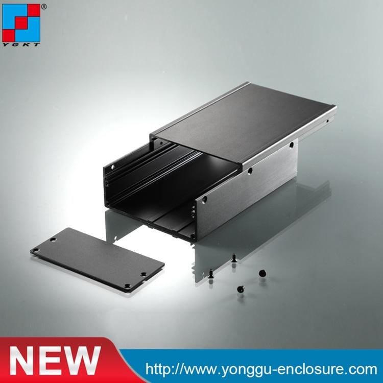 aluminium housing metal electronics box diy aluminum enclosure YGS-036 96*45.5-140mm (WxH-D)