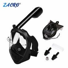 Маска для дайвинга, маска для подводного плавания, анти-туман, маска для подводного плавания, для женщин, мужчин, детей, для плавания, трубка для дайвинга, снаряжение для мужчин t#2