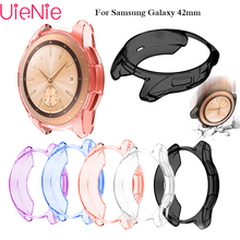 New Protective Case For Samsung Galaxy Watch 42mm bumper Smart accessories Plating TPU protection shell Cover frame