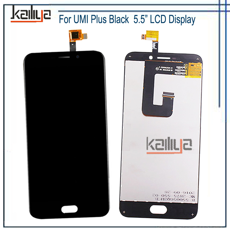 NEW Tested LCD Display For UMI Plus+Touch Screen Digitizer Assembly Replacement For UMI Plus Mobile Phones Parts 5.5 Inch Black