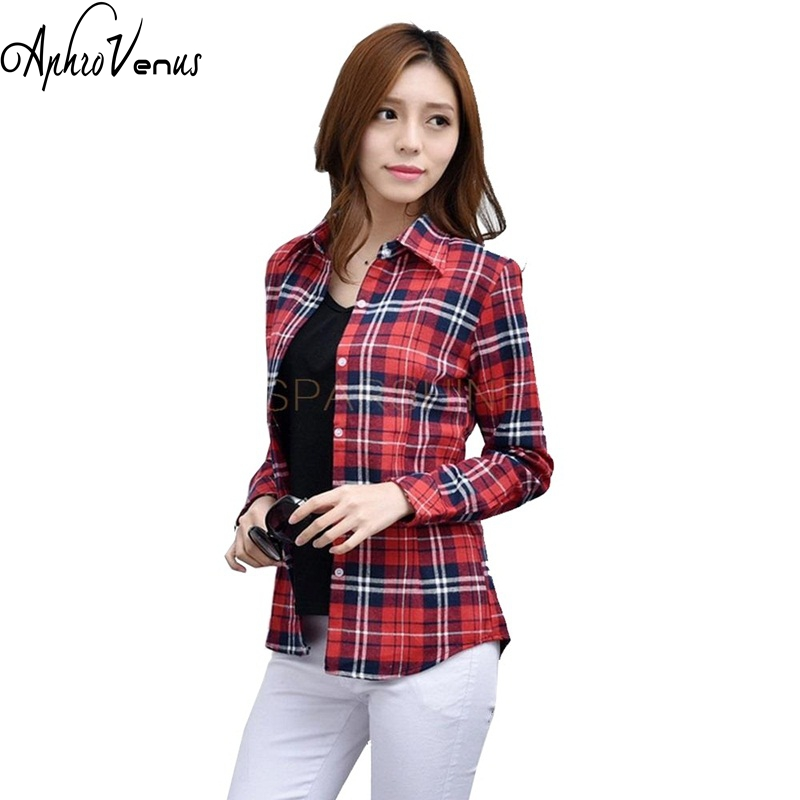 Online buy wholesale flannel shirt women from china for Buy plaid shirts online
