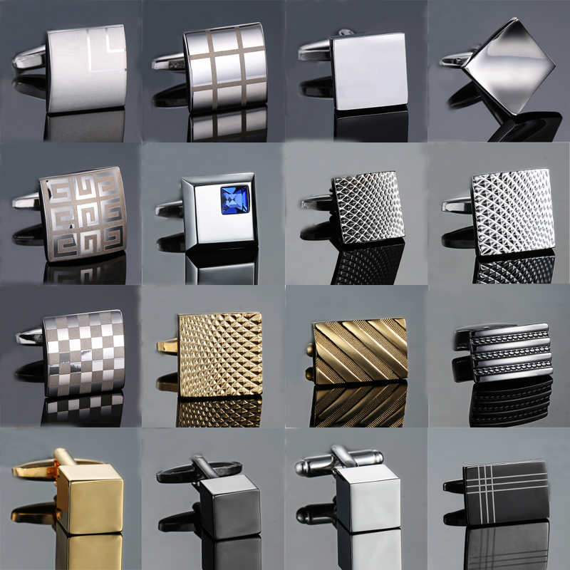 Novelty cuff links stainless steel Old craftsman hand Laser s