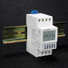 High quality digital industrial control microcomputer timer switch controller 220V AC 16 ON 16 OFF 1 min to 168h free shipping