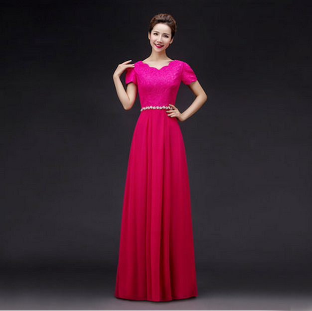 Popular Fuschia Colored Dresses-Buy Cheap Fuschia Colored ...