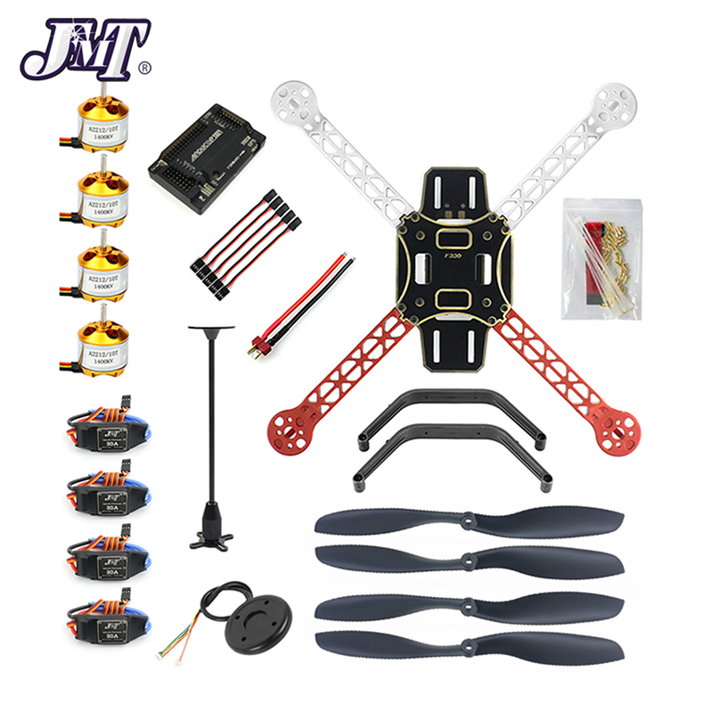 JMT RC Drone Quadrocopter 4-axis Aircraft Kit F330 MultiCopter Frame 6M GPS APM2.8 Flight Control No Transmitter No BatteryJMT RC Drone Quadrocopter 4-axis Aircraft Kit F330 MultiCopter Frame 6M GPS APM2.8 Flight Control No Transmitter No Battery