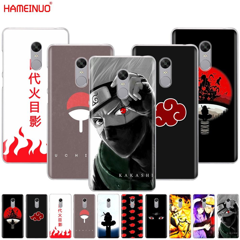 HAMEINUO Anime Naruto Naruto Minimalist Cover phone  Case for Xiaomi redmi 5 4 1 1s 2 3 3s pro PLUS redmi note 4 4X 4A 5A
