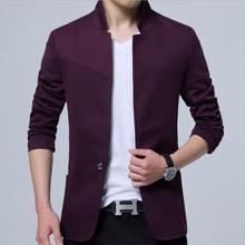 Для мужчин S Куртки Размеры 3XL Для мужчин модно и высокого класса для отдыха Воротники Для мужчин S Пиджаки для женщин Дешевые человек блейзер повседневное пиджак