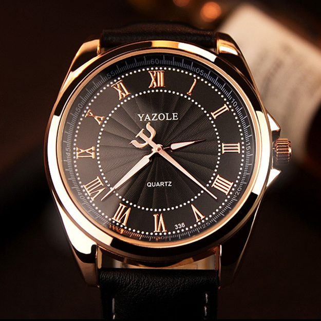 YAZOLE Quartz Watch Men Top Brand Luxury Famous 2018 Wristwatch Male Clock Wrist Watch Quartz-Watch Hodinky Relogio Masculino