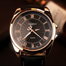 цены Luxury TOP Brand YAZOLE Quartz Watch Men Famous Wristwatches Male Clock Wrist Watch 2016 Quartz-Watch Hodinky Relogio Masculino