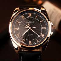 Yazole relógio de quartzo masculino marca de luxo 2019 relógios relógio de pulso relógio de quartzo-relógio hodinky relogio masculino erkek kol saati