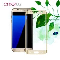 Original AMORUS For Samsung Galaxy S7 Edge 5 5 Inches G935 Silk Print Full Size Curved